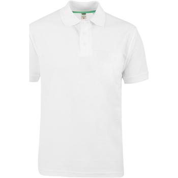 Textiel Heren Polo's korte mouwen Duke D555 Wit