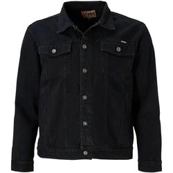 Textiel Heren Spijker jassen Duke Trucker Zwart