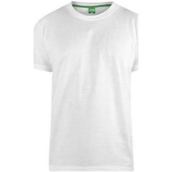 Textiel Heren T-shirts korte mouwen Duke D555 Wit