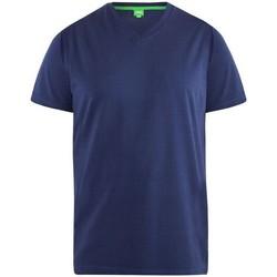 Textiel Heren T-shirts korte mouwen Duke D555 Marine