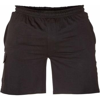 Textiel Heren Korte broeken / Bermuda's Duke Cargo Zwart