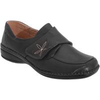 Schoenen Dames Derby Boulevard Wide Fit Zwart