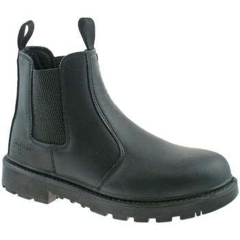 Schoenen Heren Laarzen Grafters Gusset Zwart