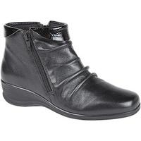 Schoenen Dames Enkellaarzen Mod Comfys Softie Zwart