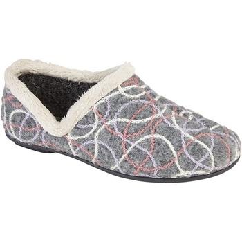 Schoenen Dames Sloffen Sleepers Knitted Grijs