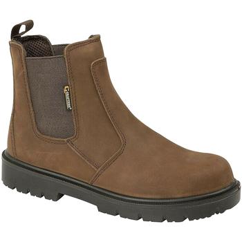 Schoenen Heren Laarzen Grafters Safety Bruin
