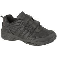 Schoenen Kinderen Lage sneakers Dek Fusion II Zwart
