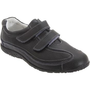 Schoenen Dames Lage sneakers Boulevard Wide Fit Zwart