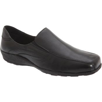 Schoenen Dames Mocassins Mod Comfys Gusset Zwart