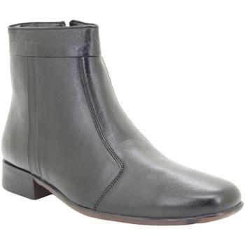 Schoenen Heren Laarzen Scimitar Pleated Zwart