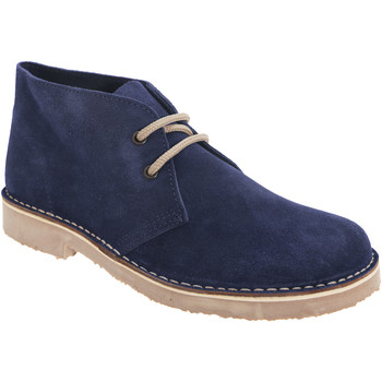 Schoenen Dames Laarzen Roamers Round Toe Marine