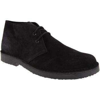 Schoenen Heren Laarzen Roamers Desert Zwart