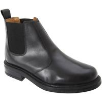Schoenen Heren Laarzen Roamers Gusset Zwart