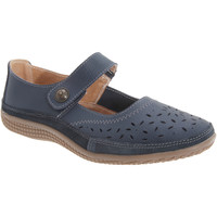 Schoenen Dames Derby & Klassiek Boulevard Wide Fit Marine