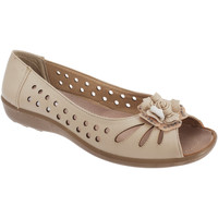 Schoenen Dames Sandalen / Open schoenen Boulevard Casual Beige
