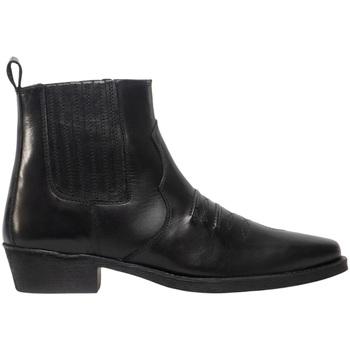 Schoenen Heren Laarzen Woodland Gusset Zwart