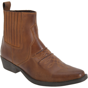 Schoenen Heren Laarzen Woodland Gusset Bruin