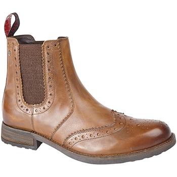 Schoenen Heren Laarzen Roamers Gusset Tan