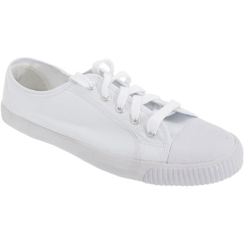 Schoenen Heren Lage sneakers Dek Canvas Wit