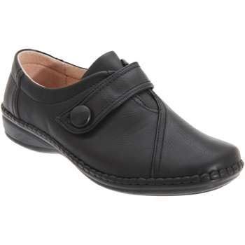 Schoenen Dames Derby Boulevard  Zwart