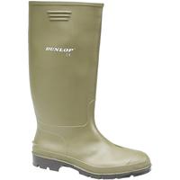 Schoenen Heren Regenlaarzen Dunlop Pricemastor Groen