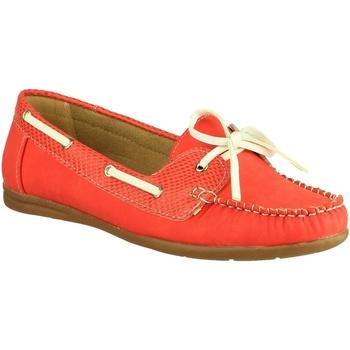 Schoenen Dames Bootschoenen Divaz BELGRAVIA Rood
