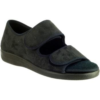 Schoenen Dames Sloffen Gbs BROMPTON ( MED) Zwart