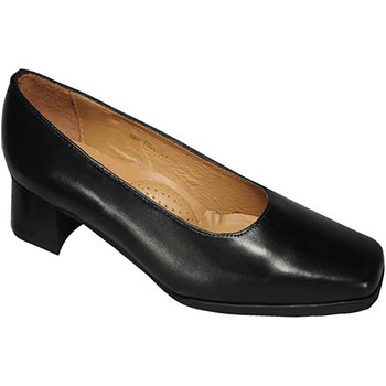 Schoenen Dames pumps Amblers Wide Fit Zwart
