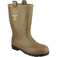 Schoenen Heren veiligheidsschoenen Footsure 95 TAN PVC RIGGER Tan