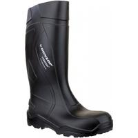 Schoenen Heren Regenlaarzen Dunlop Puro+ Sfty C762041 Black Zwart