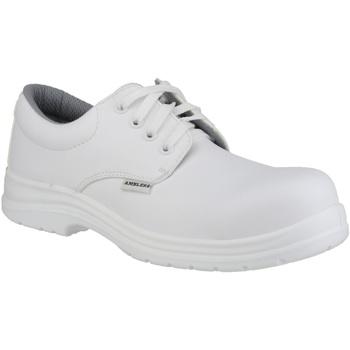 Schoenen Heren Derby Amblers FS511 White Safety Shoes Wit