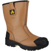 Schoenen Heren veiligheidsschoenen Amblers FS143 Tan