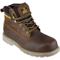 Schoenen Heren veiligheidsschoenen Amblers FS164 Safety Boots Bruin