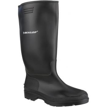 Schoenen Heren Regenlaarzen Dunlop Pricemaster Zwart