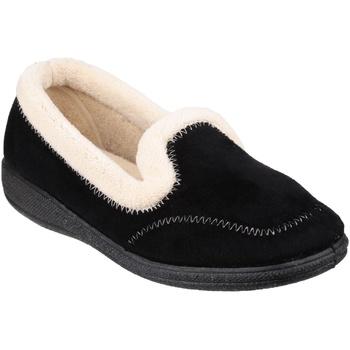 Schoenen Dames Sloffen Fleet & Foster Classic Zwart