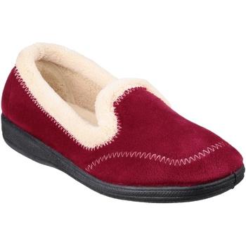 Schoenen Dames Sloffen Fleet & Foster Classic Bourgondië