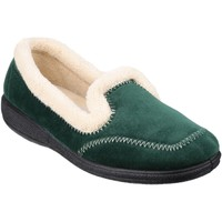 Schoenen Dames Sloffen Fleet & Foster Classic Groen