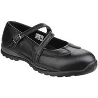 Schoenen Dames Laarzen Amblers  Zwart