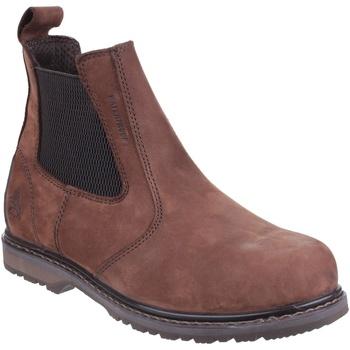 Schoenen Heren Laarzen Amblers  Bruin
