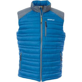 Textiel Heren Vesten / Cardigans Caterpillar C1320012 Blauw