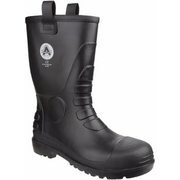 Schoenen Regenlaarzen Amblers  Zwart