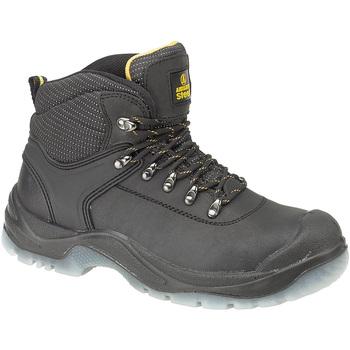 Schoenen Heren veiligheidsschoenen Amblers FS199 (BLACK) Zwart