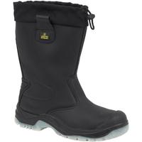 Schoenen Heren Regenlaarzen Amblers FS209 SAFETY Zwart