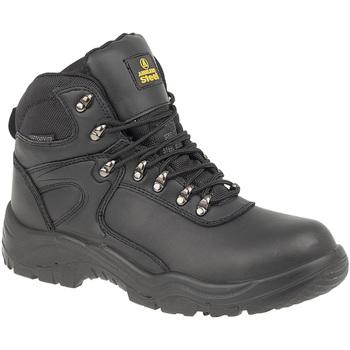 Schoenen Heren veiligheidsschoenen Amblers FS218 Safety Zwart
