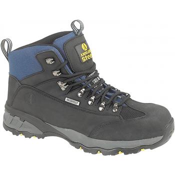 Schoenen Dames veiligheidsschoenen Amblers FS161 SAFETY Zwart