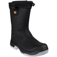 Schoenen Dames veiligheidsschoenen Amblers FS209 SAFETY Zwart