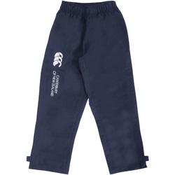 Textiel Kinderen Trainingsbroeken Canterbury CN250B Marine