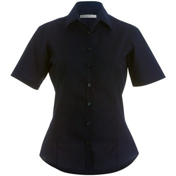 Textiel Dames Overhemden Kustom Kit Business Zwart