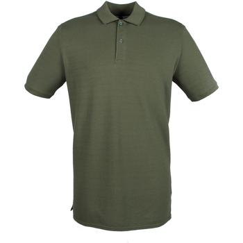 Textiel Heren Polo's korte mouwen Henbury HB101 Olijf