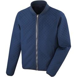 Textiel Heren Wind jackets Result Softshell Marine